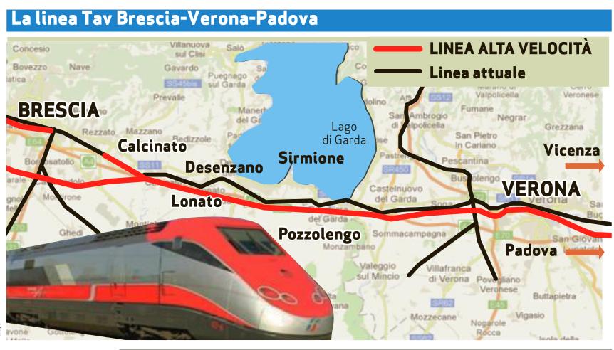 CEPAV DUE – AV/Ac Milano – Verona Tratta Brescia Est_Verona Km 121+401/Km 126+963